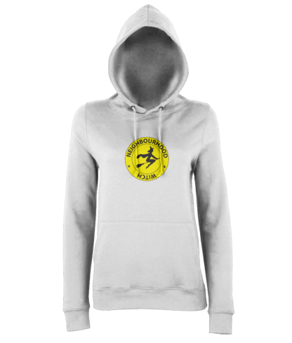 Neighbourhood Witch Hoodie in White