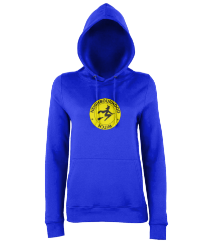Neighbourhood Witch Hoodie in Blue