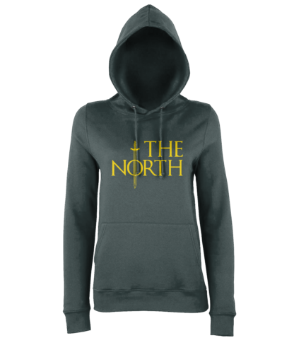 The North Hoodie in Charcoal