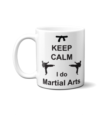 Keep Calm Martial Arts Mug