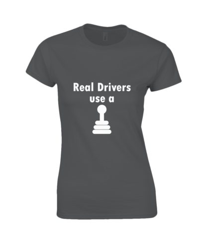 Real Drivers T-Shirt in Black