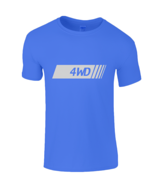 4WD T-Shirt in Blue