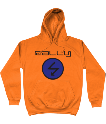 Rally Radio Hoodie in Orange