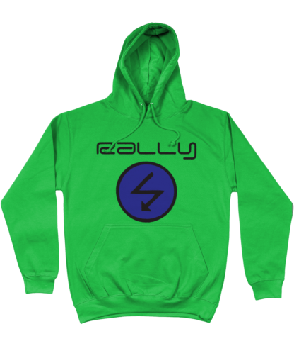 Rally Radio Hoodie in Green