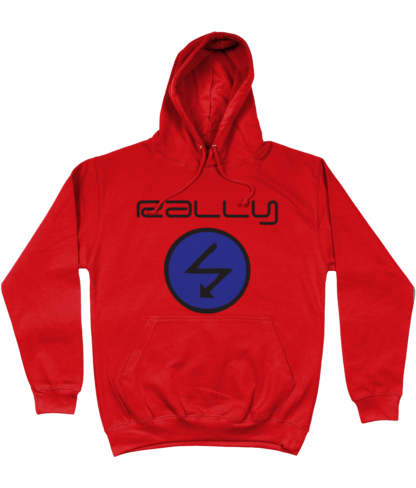 Rally Radio Hoodie in Red