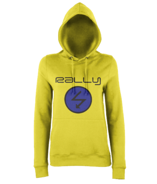 Rally Radio Hoodie in Yellow