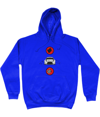 Start Rally Finish Hoodie in Blue