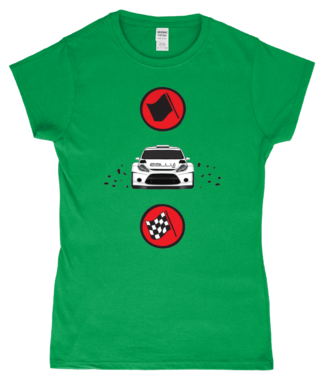 Start Rally Finish T-Shirt in Green