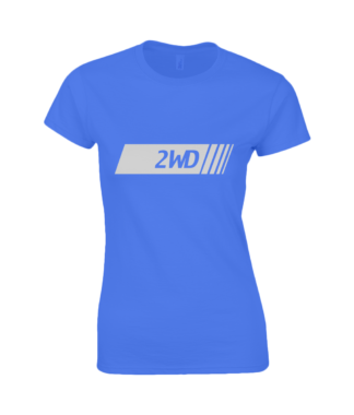 2WD T-Shirt in Blue