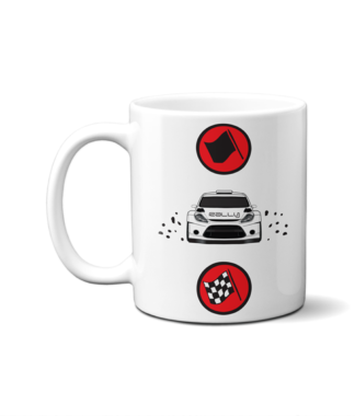 Start Rally Finish Mug