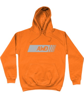 AWD Hoodie in Orange
