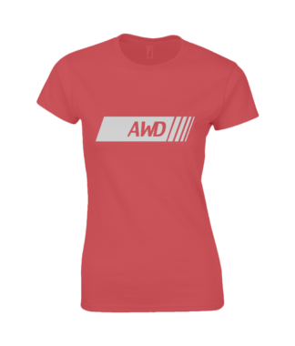 AWD T-Shirt in Red