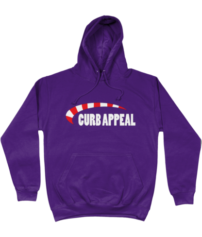Curb Appeal Hoodie in Purple
