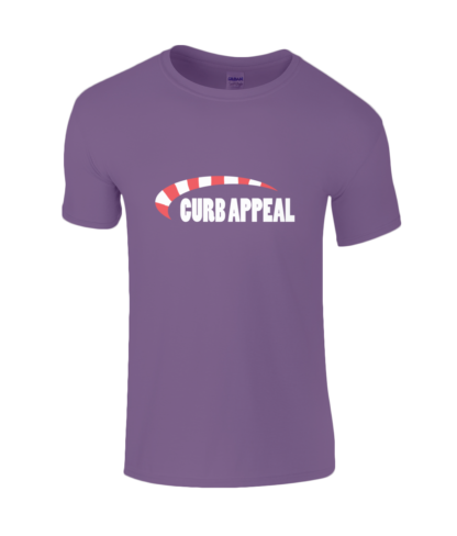Curb Appeal T-Shirt in Purple