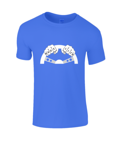 Race Life T-Shirt in Blue