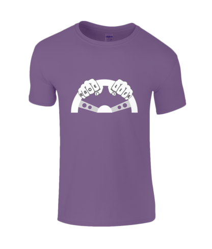 Race Life T-Shirt in Purple