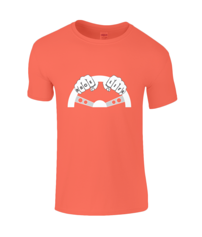 Race Life T-Shirt in Orange