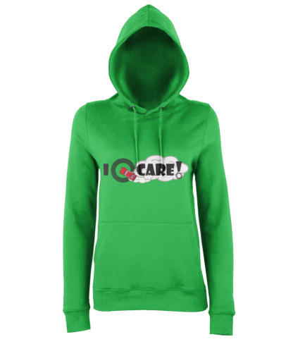 I Donut Care! Hoodie in Green