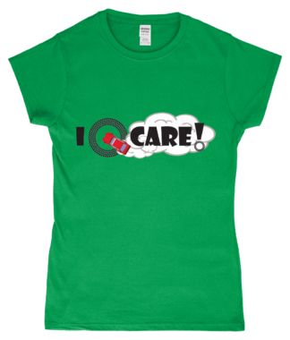I Donut Care! T-Shirt in Green