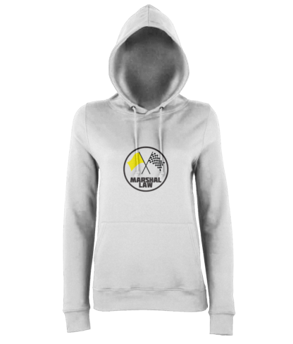 Marshal Law Hoodie in White