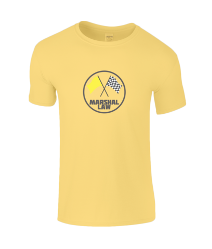 Marshal Law T-Shirt in Yellow