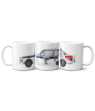 Ford Escort MK2 British Airways Mug