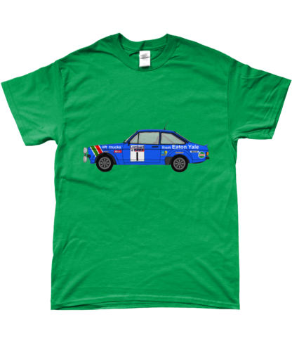 Ford Escort MK2 Eaton Yale T-Shirt in Green