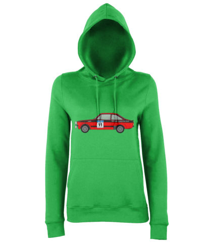 Ford Escort MK2 Colin McRae Hoodie in Green