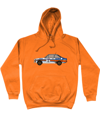 Ford Escort MK2 Rothmans Hoodie in Orange