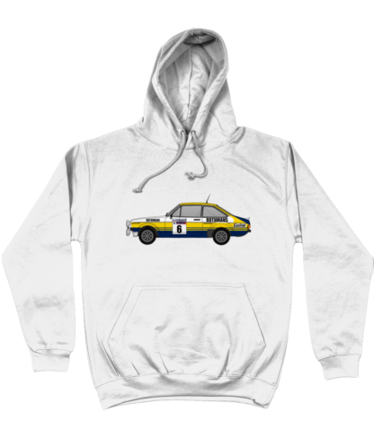Ford Escort MK2 Rothmans Hoodie in White