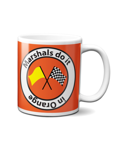 Marshal's do it in Orange Mug
