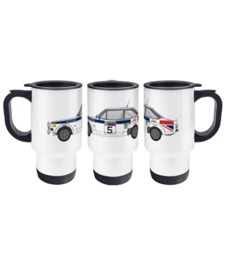 Ford Escort MK2 British Airways Travel Mug