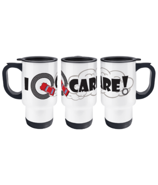 I Donut Care! Travel Mug