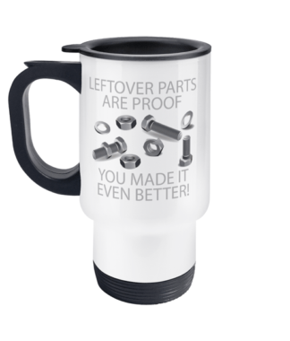 Leftover Parts Travel Mug