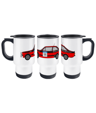 Ford Escort MK2 Colin McRae Travel Mug
