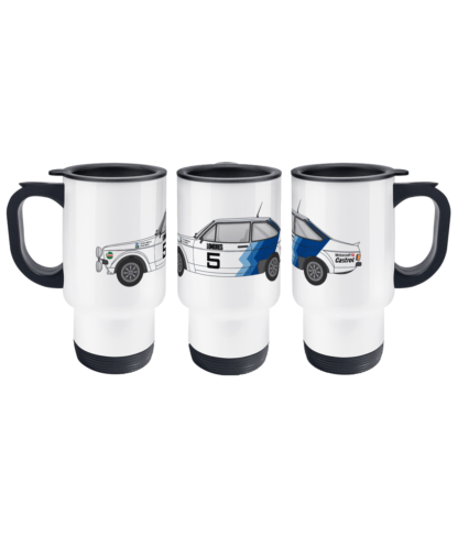 Ford Escort MK2 Hannu Mikkola Travel Mug