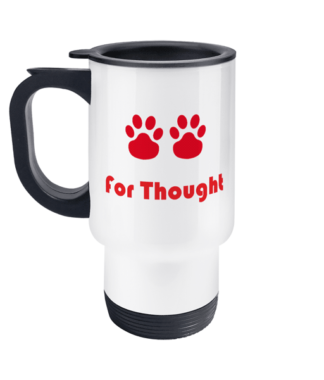 Paws for Thought Travel Mug