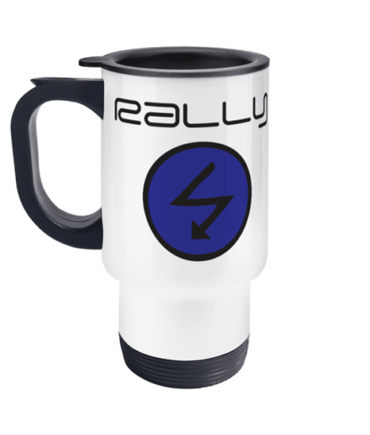Rally Radio Travel Mug
