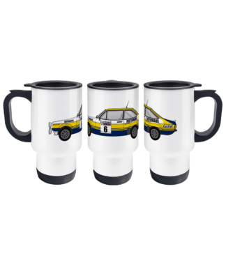 Ford Escort MK2 Rothmans Travel Mug