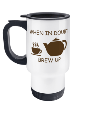 Brew Up Travel Mug