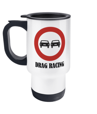 Drag Racing Travel Mug