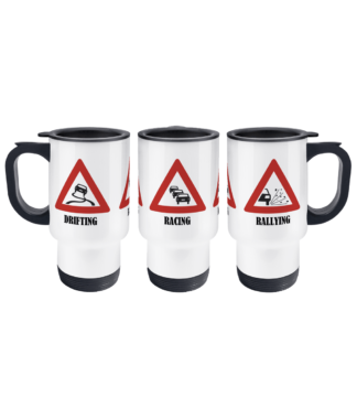 Drifting Rallying Racing Travel Mug