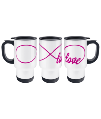 Infinity Love Travel Mug