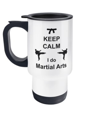 Keep CalmI do Martial Arts Travel Mug