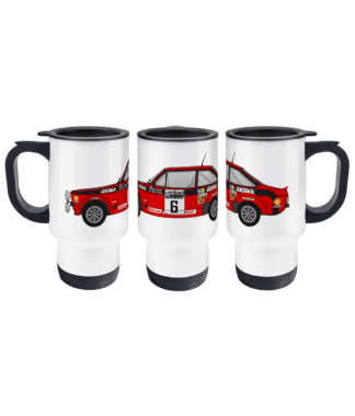 Ford Escort MK2 Cossack Travel Mug
