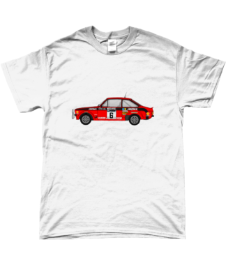 Ford Escort MKII Cossack T-Shirt in White