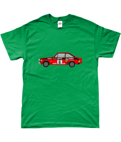 Ford Escort MK2 Cossack T-Shirt in Green
