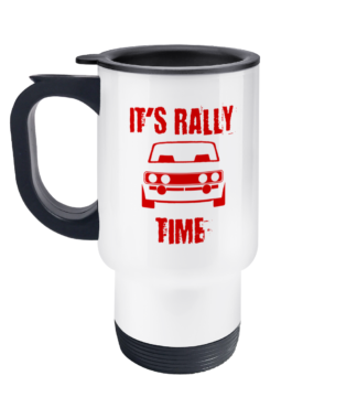 It's Rally Time Travel Mug
