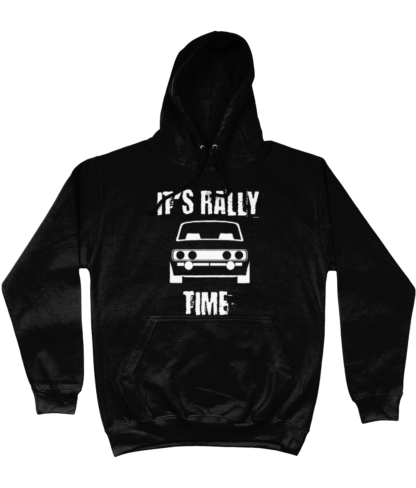 It's Rally Time Hoodie in Black