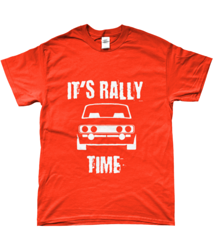 It's Rally Time T-Shirt in Orange
